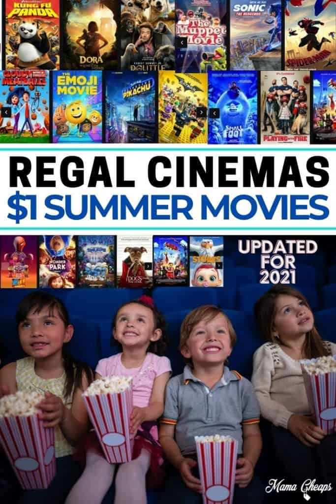 Regal 2021 movies for kids PIN