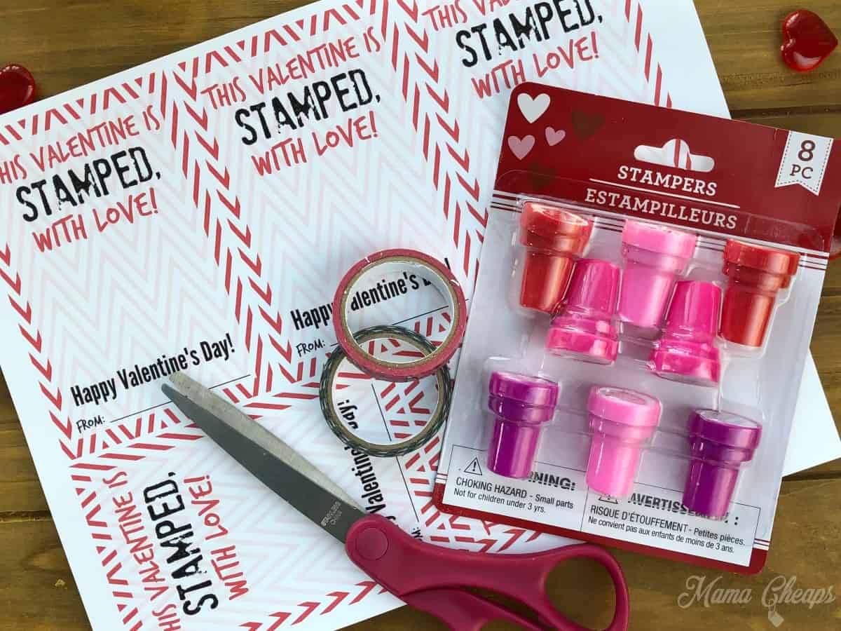 Stamper Valentine Supplies
