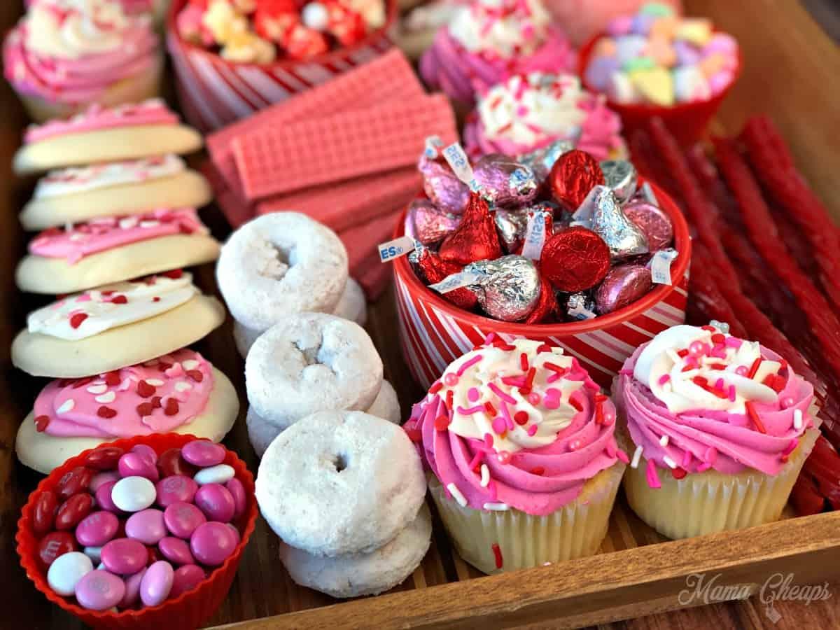 Valentine Dessert Board 1
