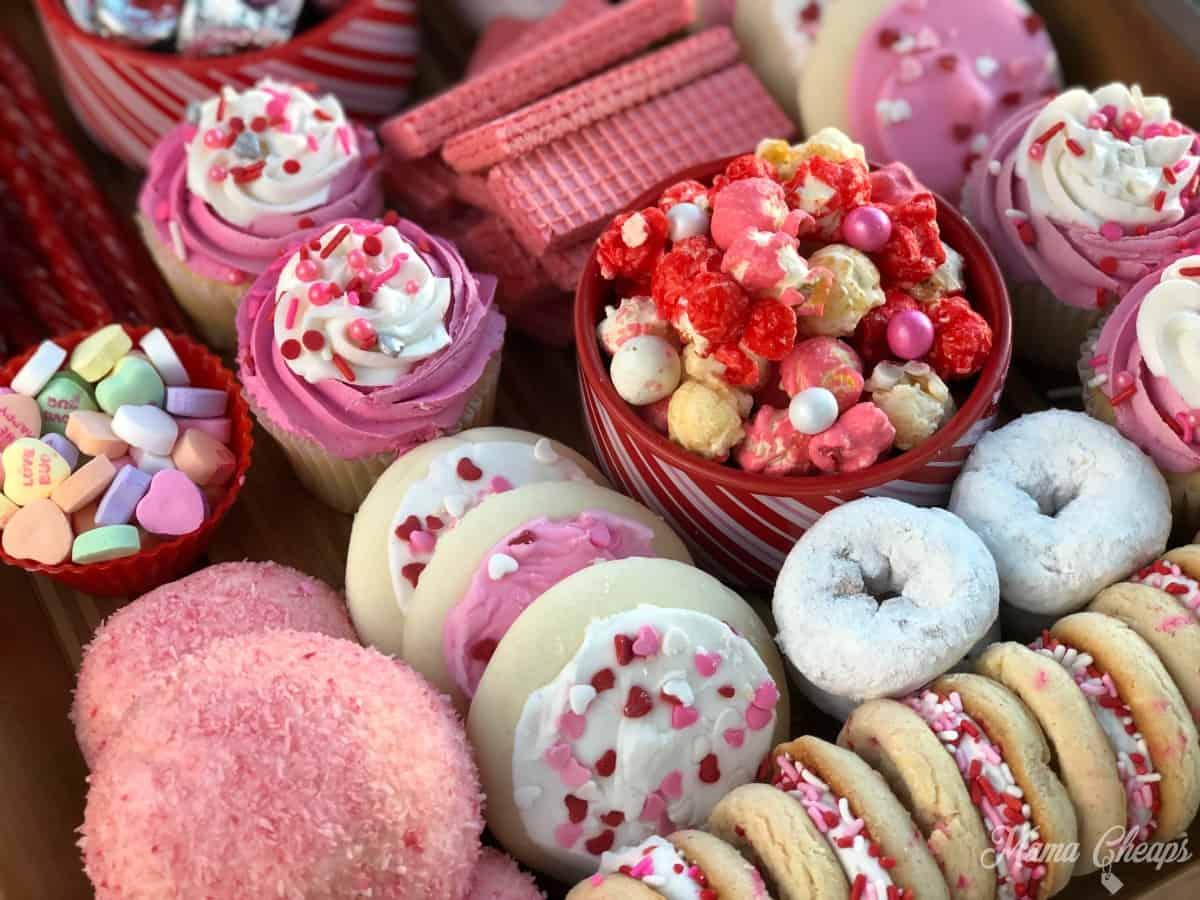 Valentine Dessert Board 4
