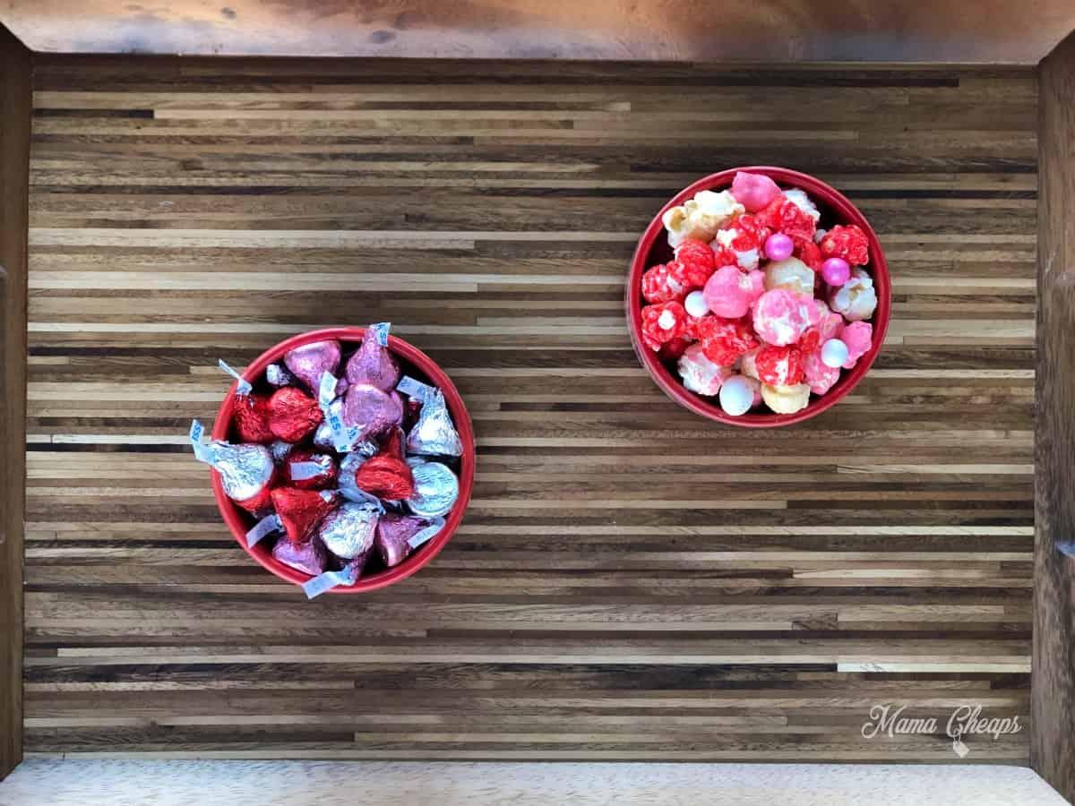 Valentine Dessert Charcuterie Board Building 1