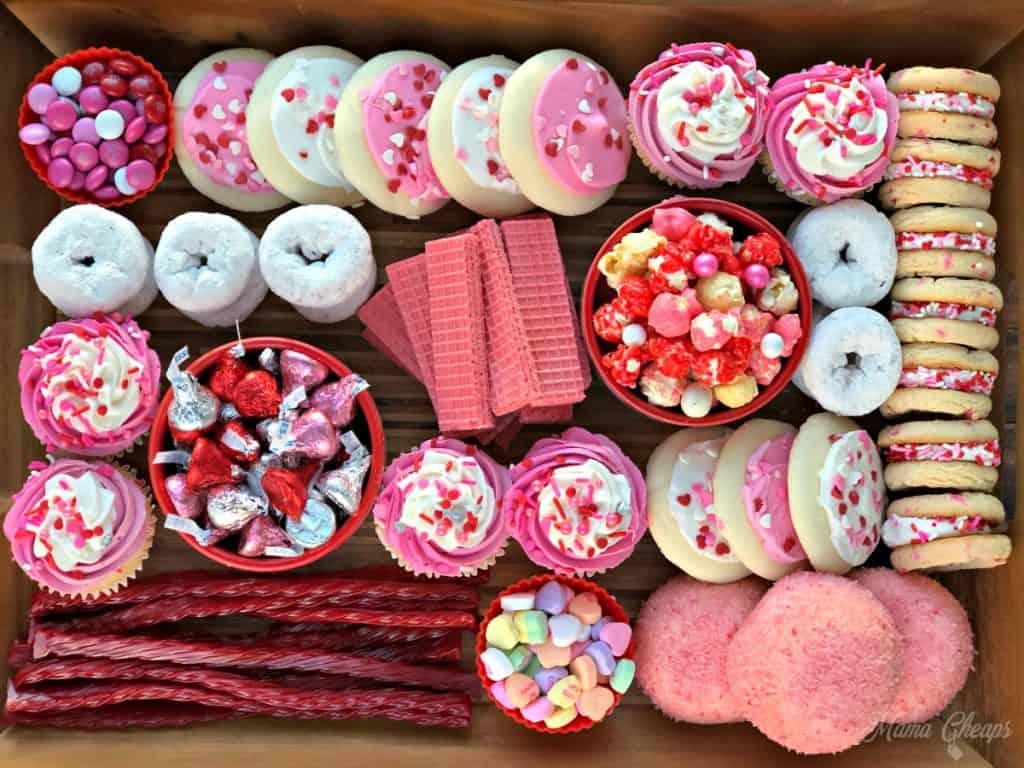 Diy Valentine S Day Dessert Charcuterie Board Mama Cheaps