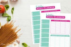 Weekly Meal Planner Set