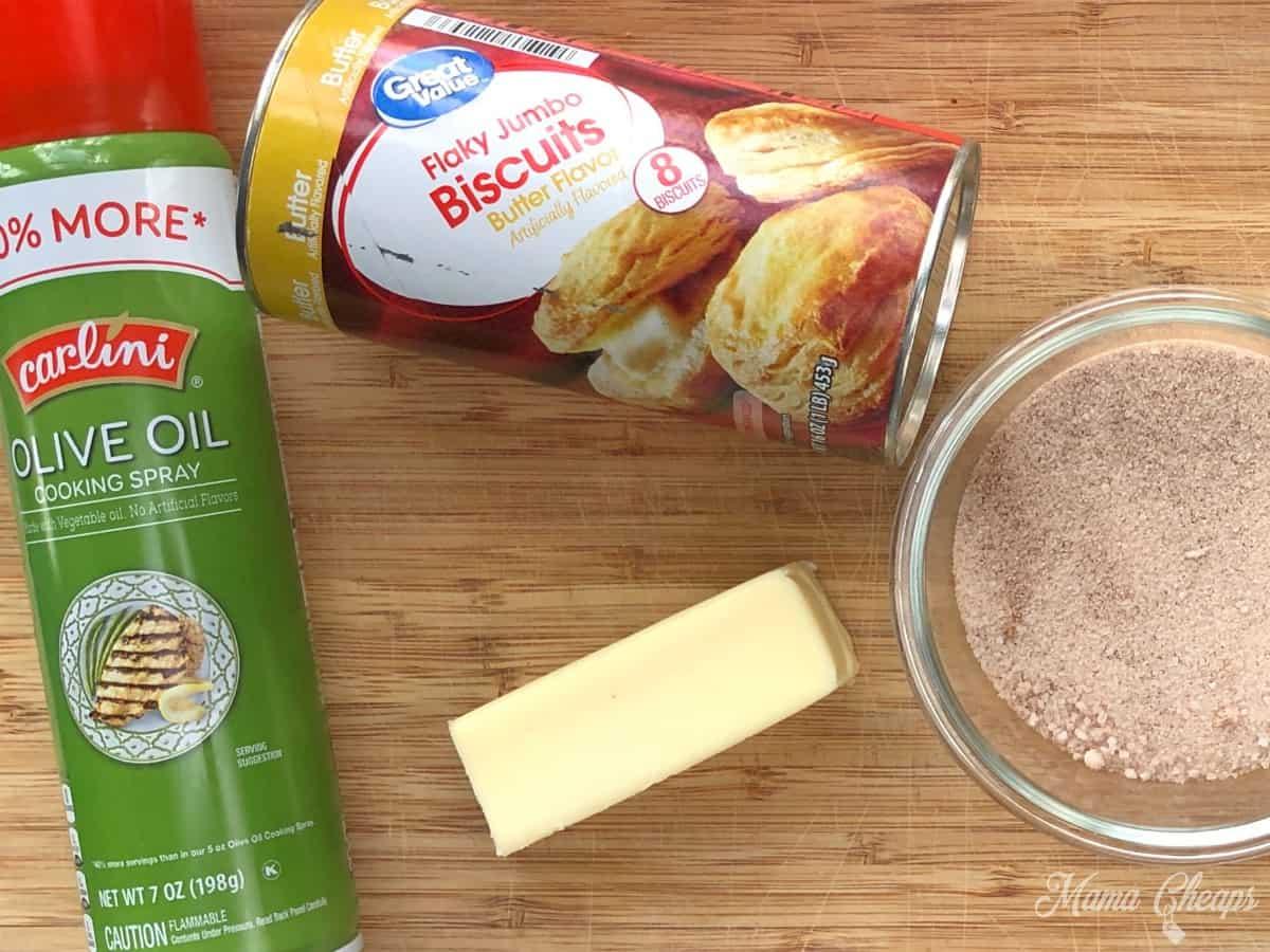 air fryer donut ingredients