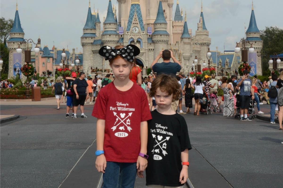 cranky kids at Disney