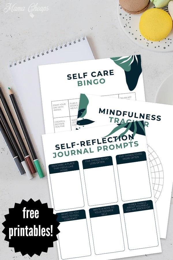 self care mindfulness PIN