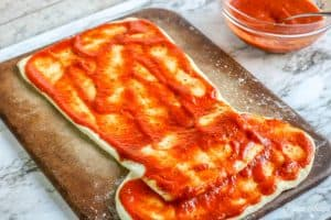 Cat in the Hat Pizza Sauce Dough