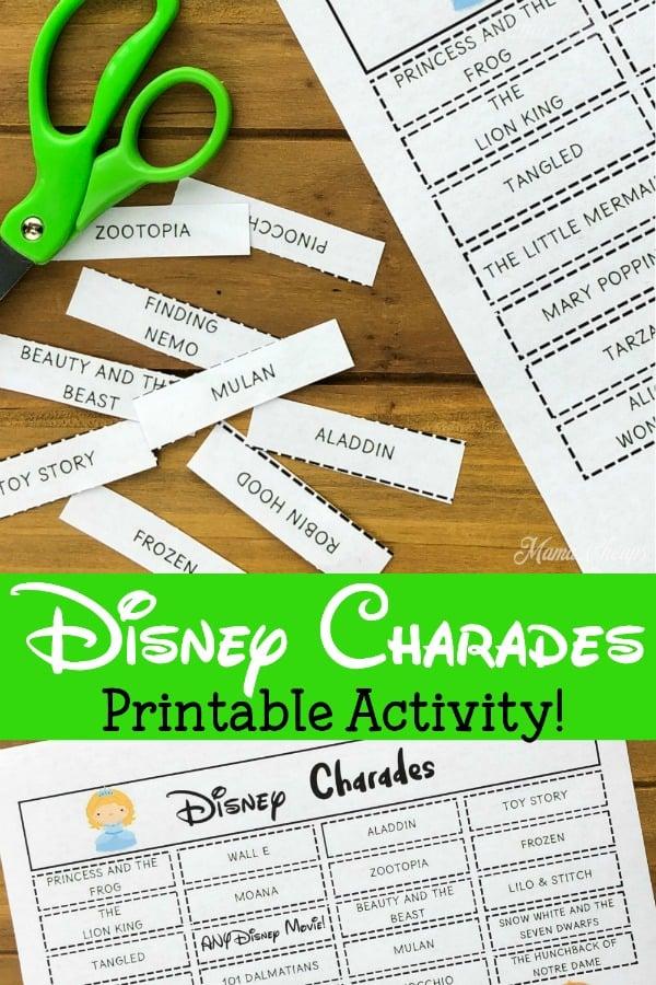 Disney Charades PIN