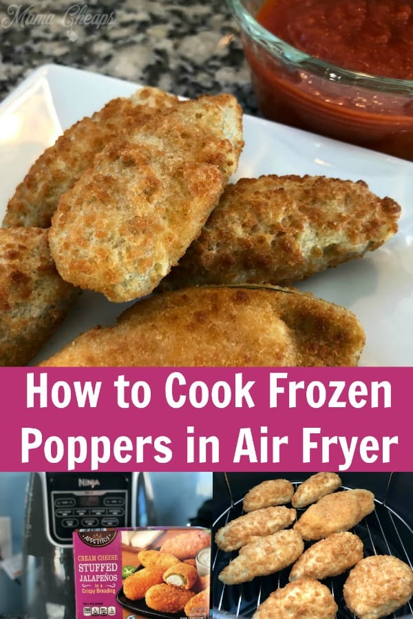 How to Cook Frozen Poppers in Air Fryer PIN