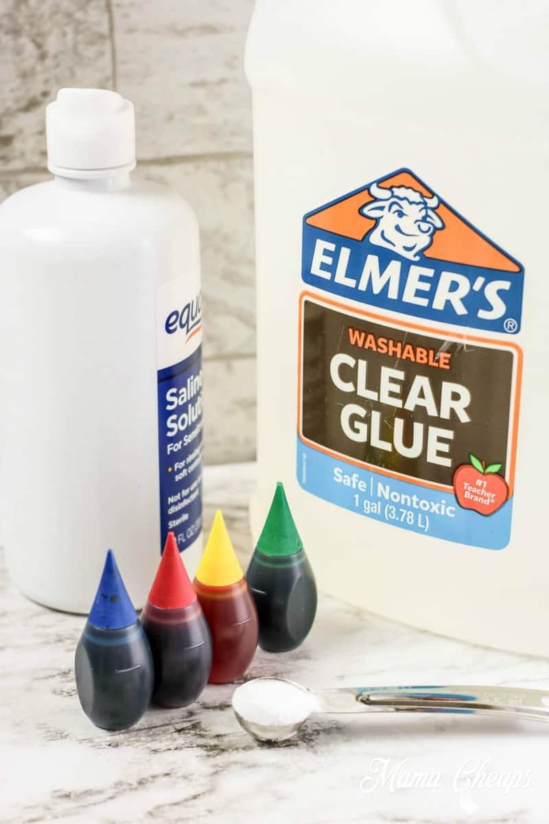 Rainbow Slime Material