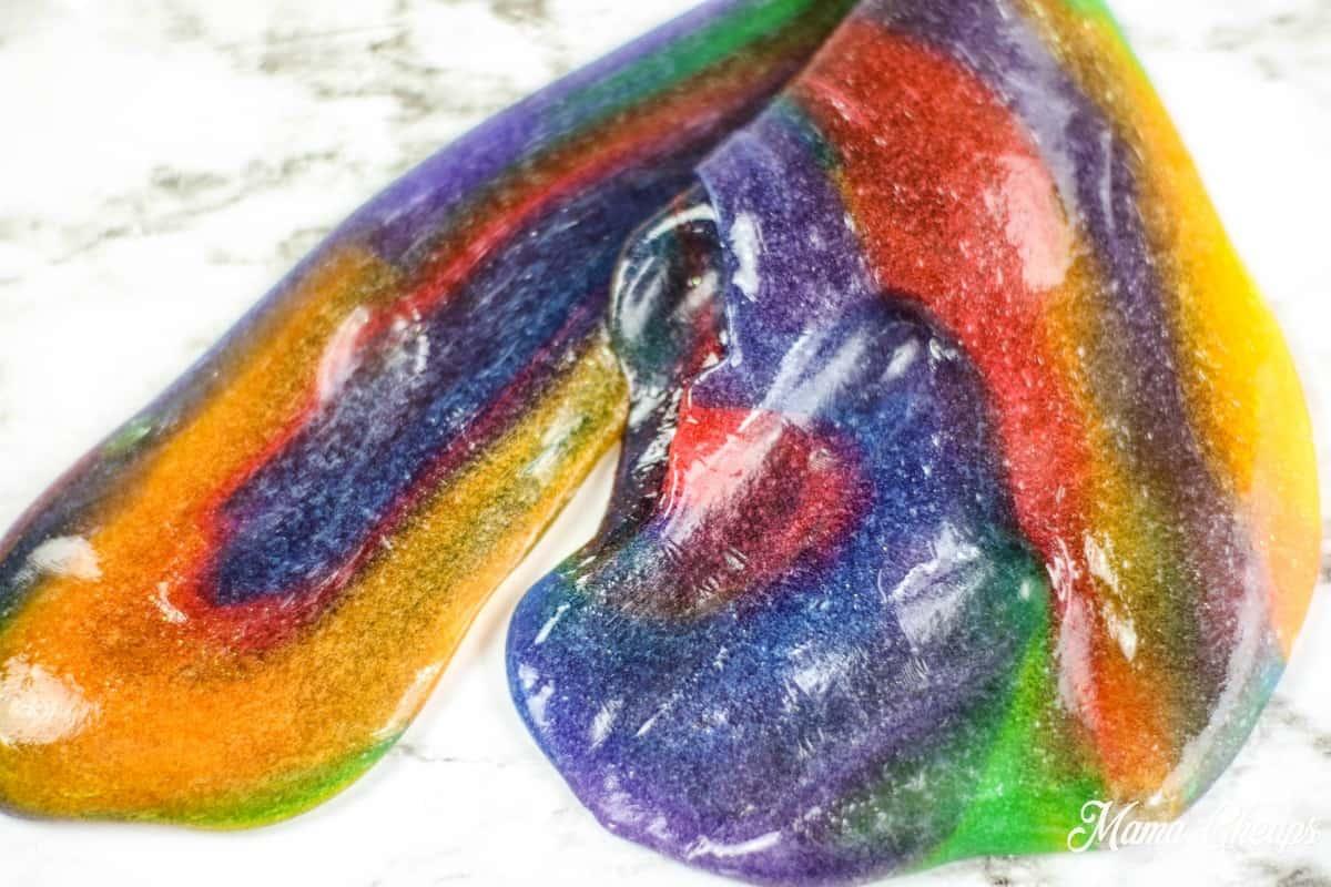 Rainbow Slime Mixed