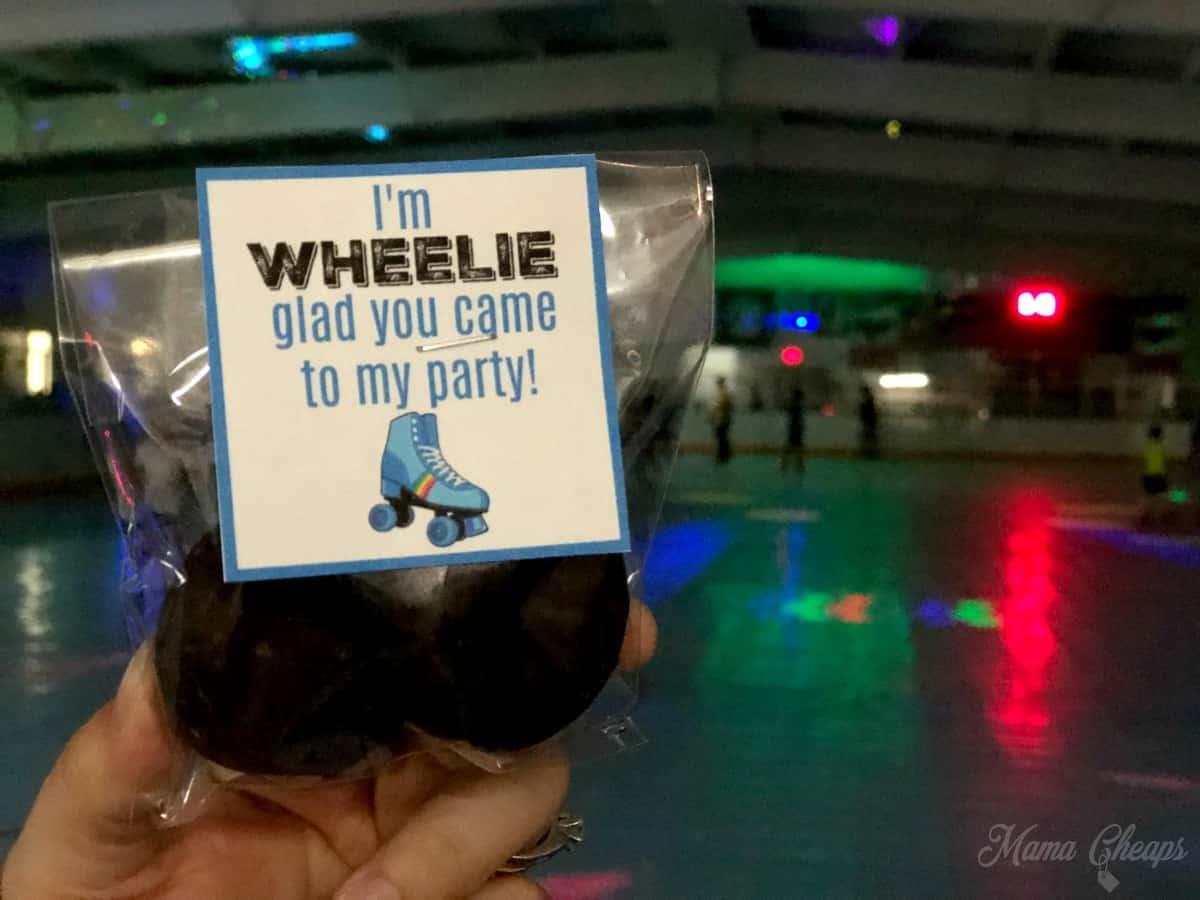Roller Skates Party Favor
