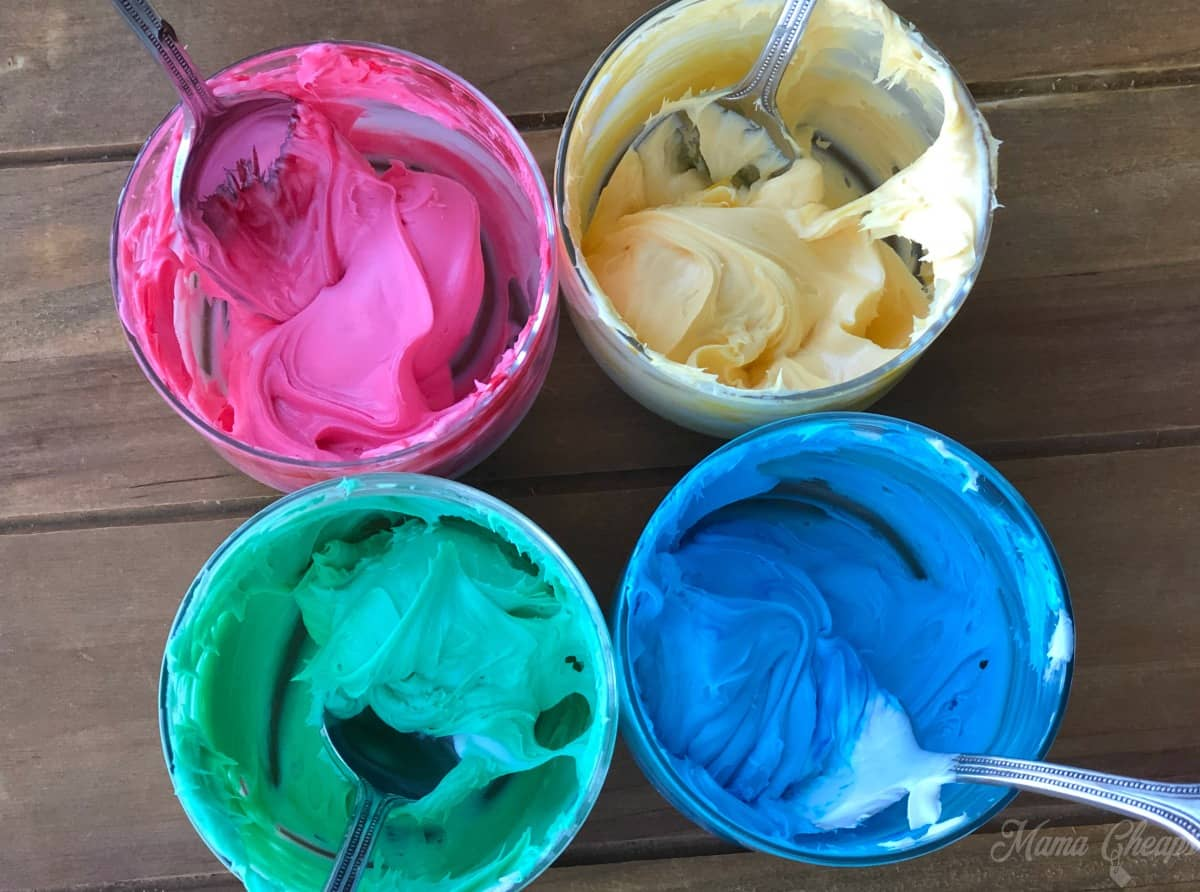 Colorful Icing