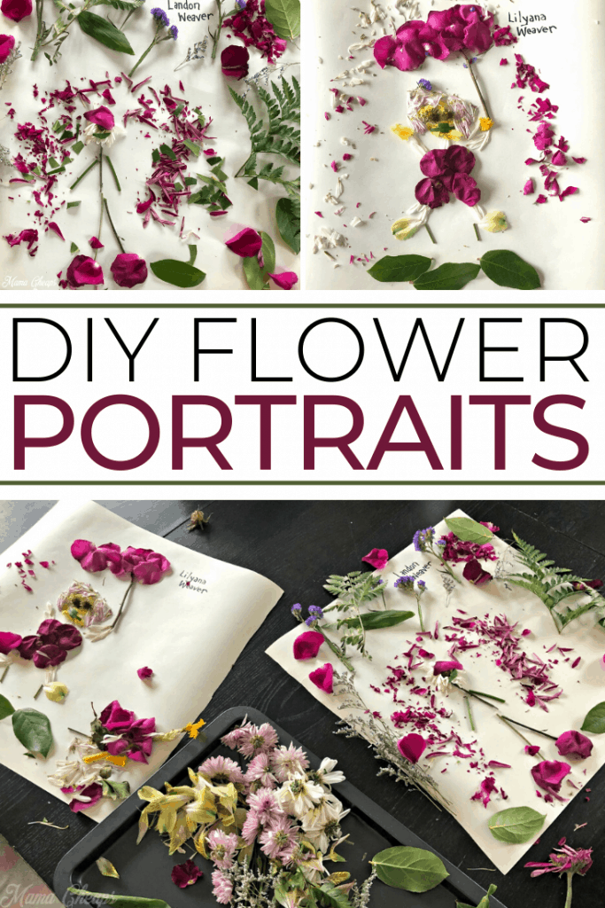 DIY Flower Pictures PIN