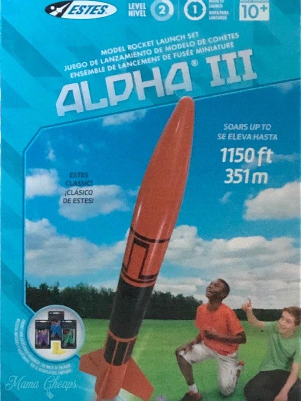 Estes Alpha 3 Rocket