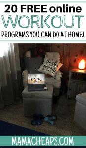 Free Online Workout Programs PIN