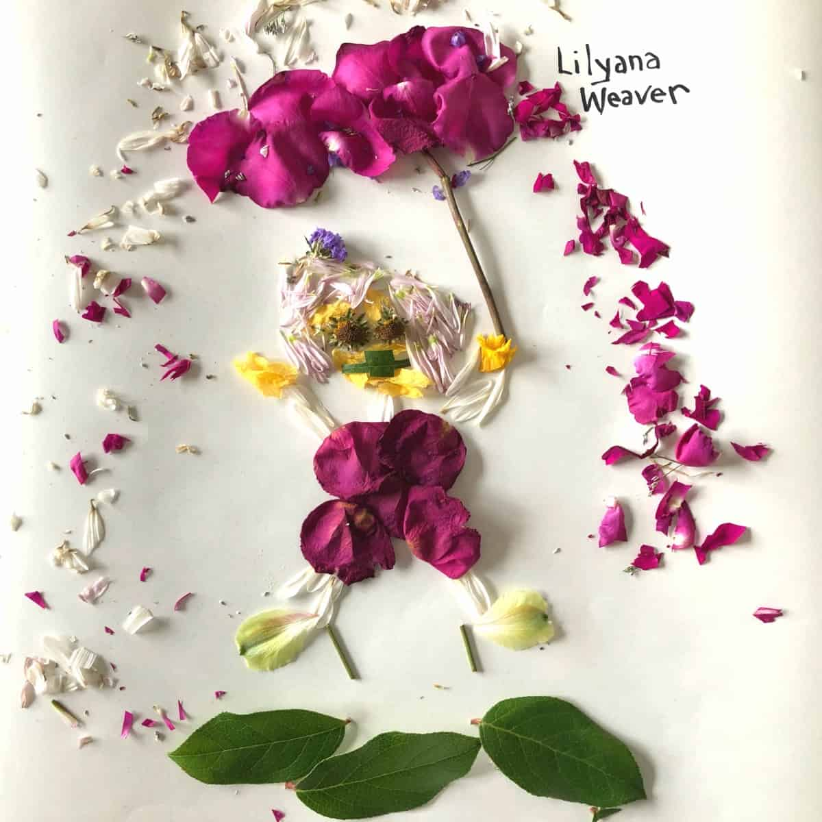 Lily Flower Portrait