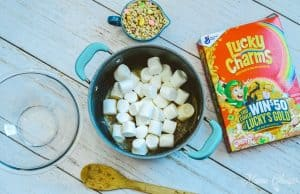 Lucky Charms Treat Bars Marshmallows