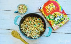 Lucky Charms Treats Cereal Added