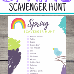 Spring Scavenger Hunt PIN