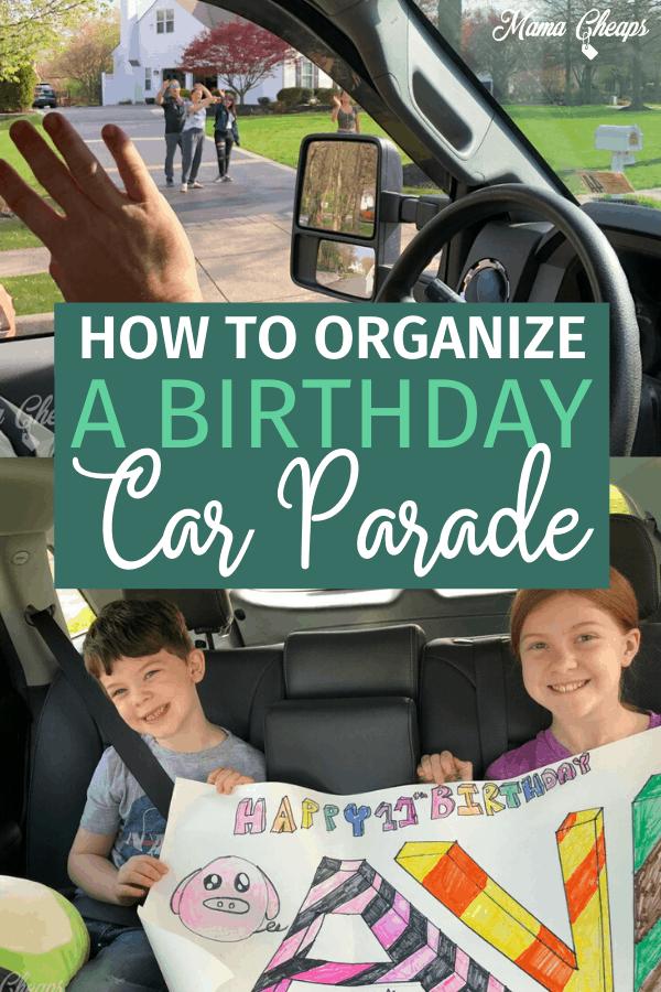 Car Birthday Parade PIN