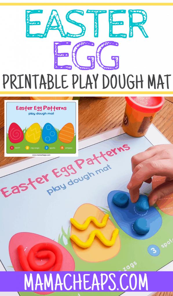 Easter Egg Play Dough Mat PIN 2