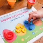 Easter Play Dough Mat 2