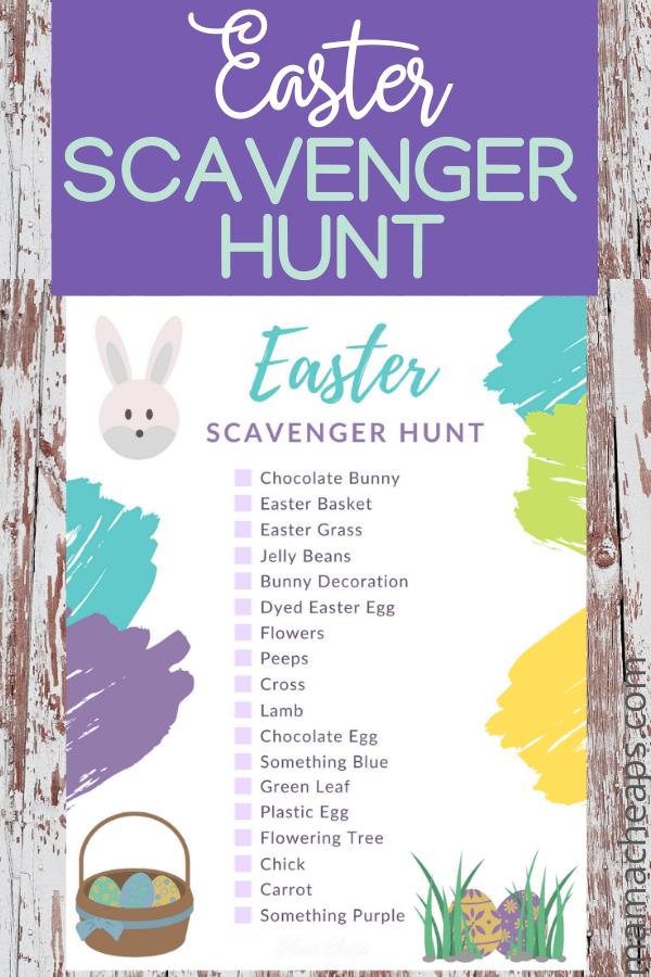 Easter Scavenger Hunt PIN