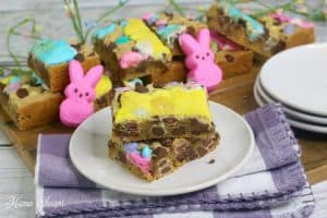 Easy Peeps Cookie Bars 1