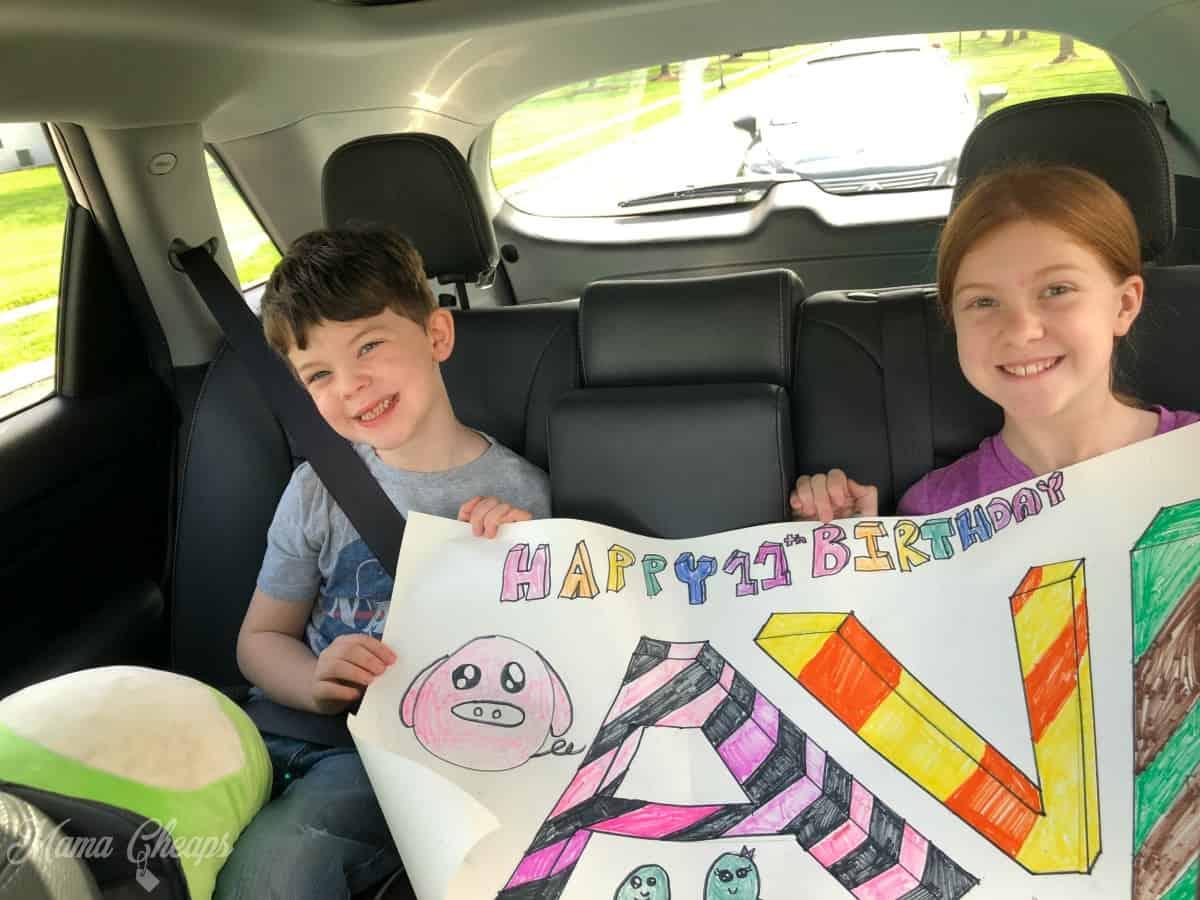 Kids Car Birthday Parade
