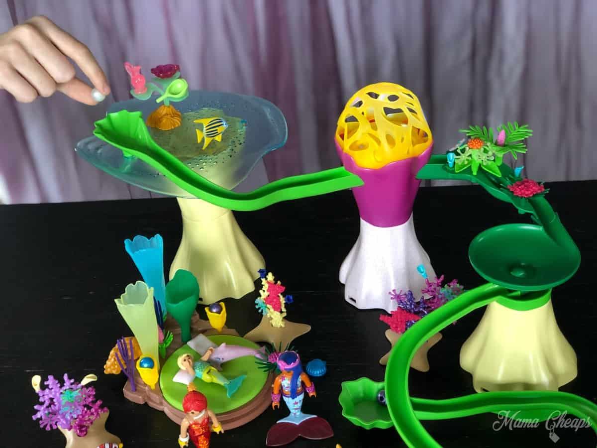 Playmobil Magic Mermaid Cove marble run