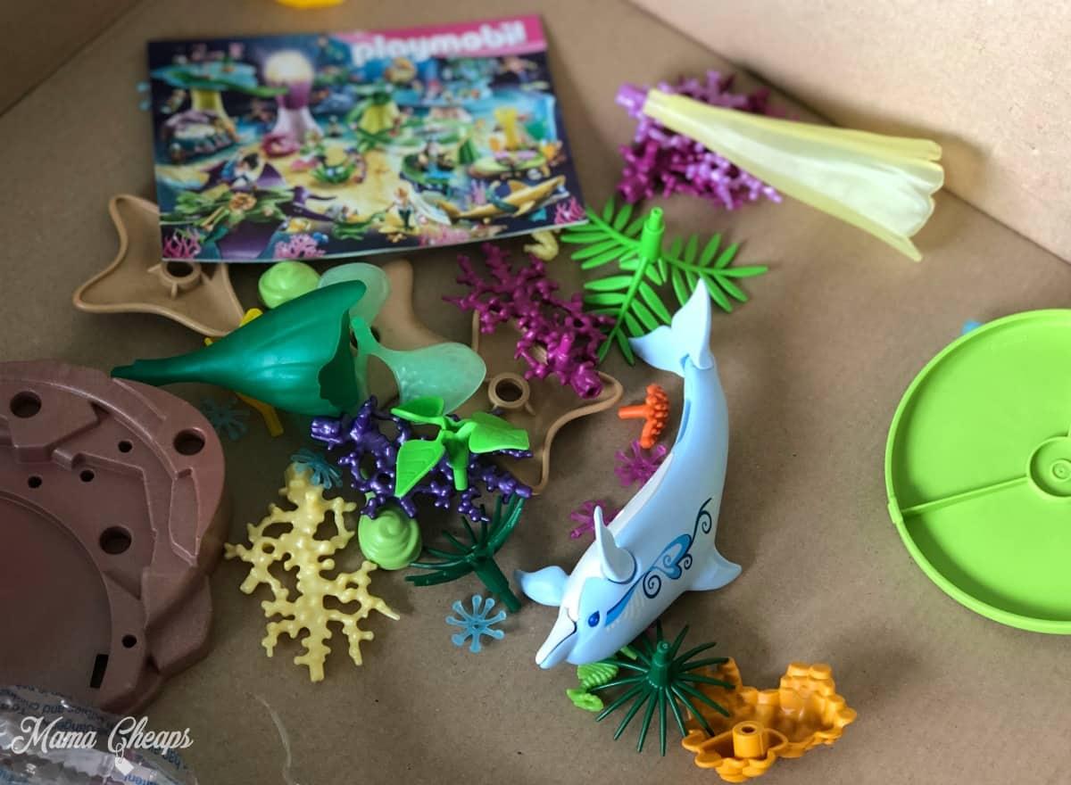 Playmobil Magic Mermaid Cove pieces