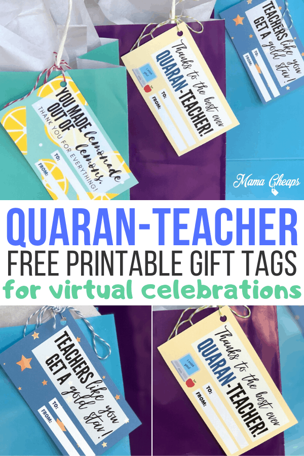 Quaran Teacher Tags PIN 2