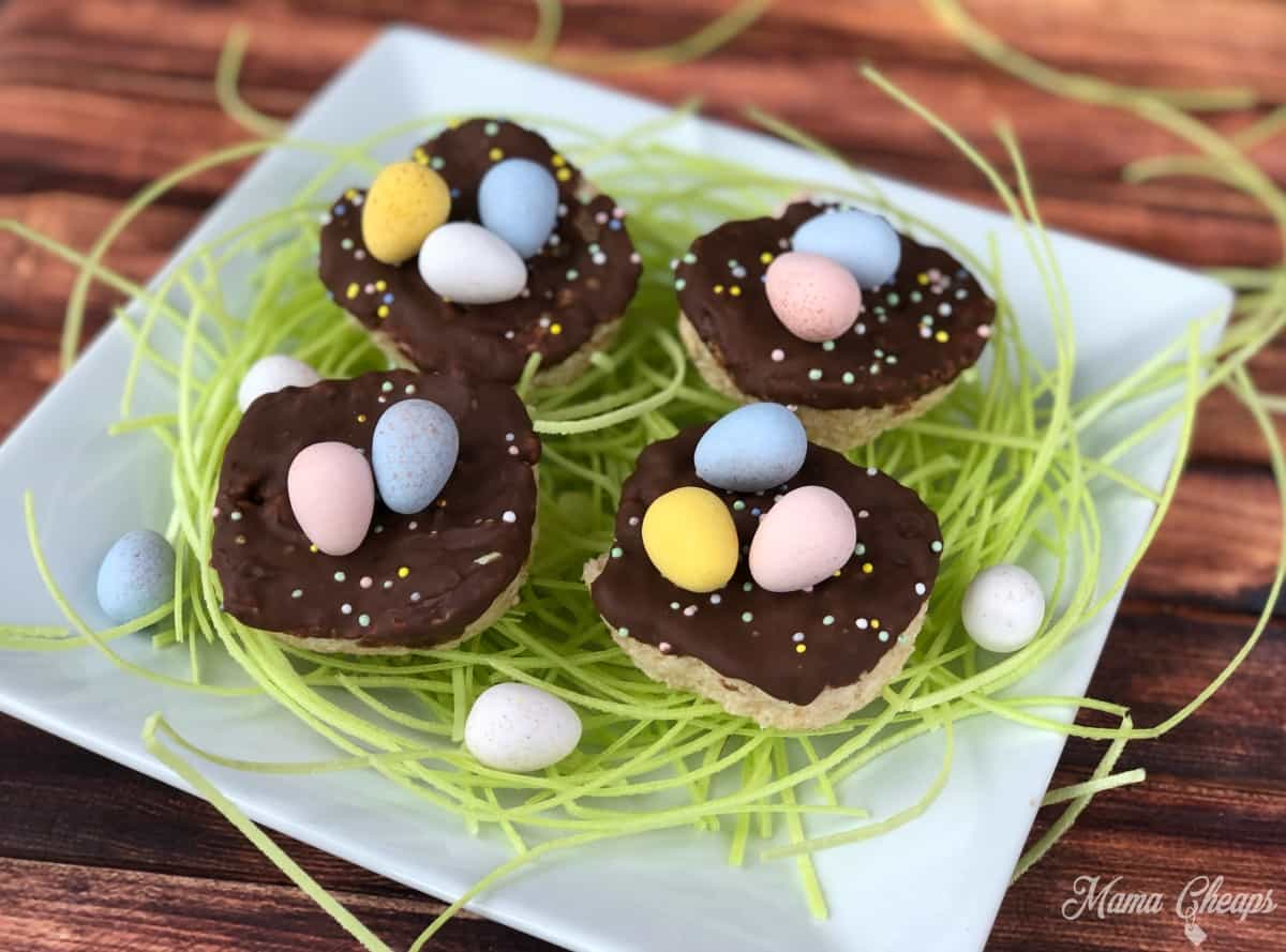 Rice Krispies Treats Bird Nests 1