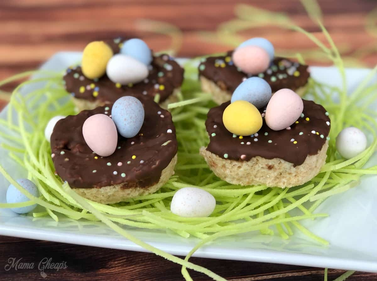 Rice Krispies Treats Bird Nests 2