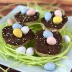 Rice Krispies Treats Bird Nests SQUARE
