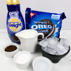 oreo cookies and cream whipped coffee ingredients