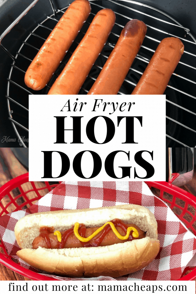 Air Fryer Hot Dogs PIN 2