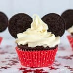 DIY Mickey Mouse Ears Cupcakes OREO SQUARE