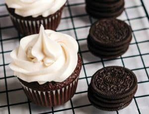 Frosted Cupcakes and OREO Cookies