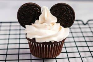 Mickey Ears Cupcake