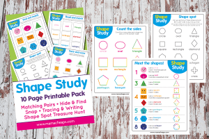 Shapes Study Pack