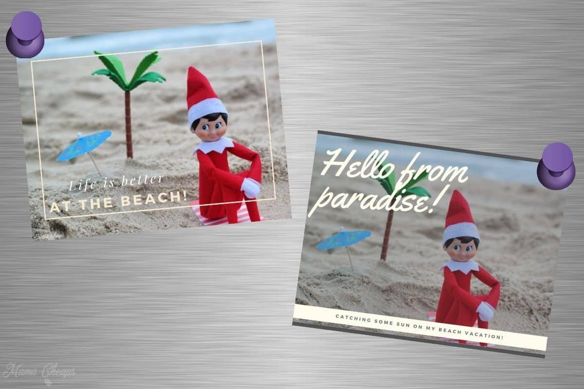 Elf Fridge Postcards (1)