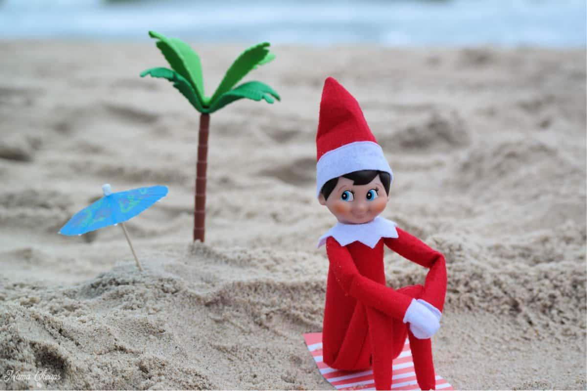 Elf on Beach Horizontal