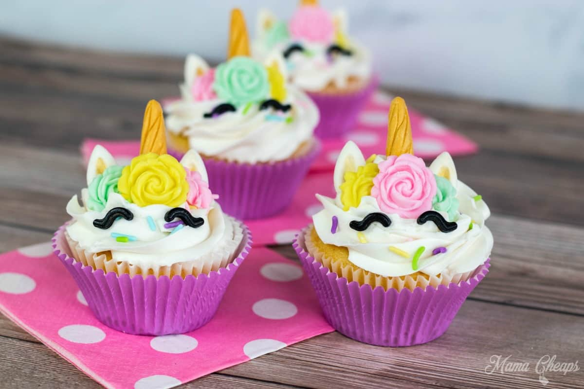 How to Make Easy DIY Unicorn Cupcakes