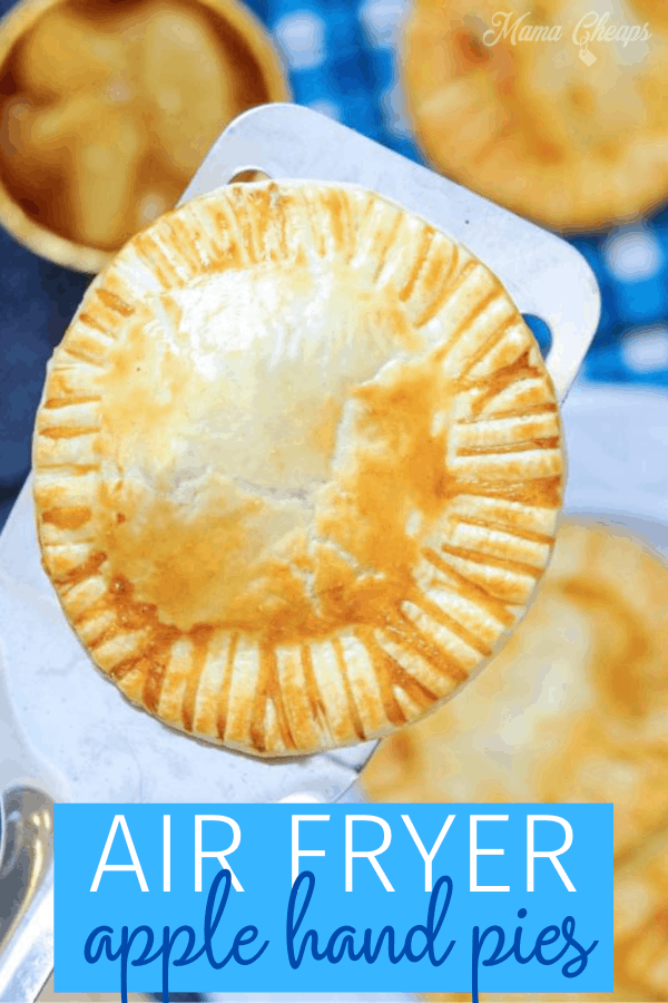 Air Fryer Apple Hand Pies PIN