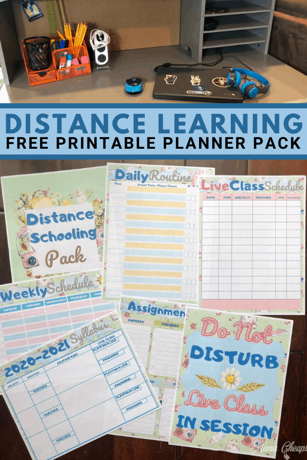 Distance Learning Pack PIN