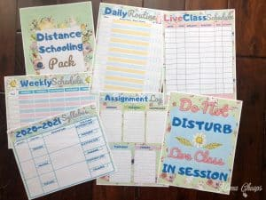 Distance Learning Planner Pack