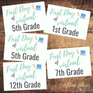 Grade Level Virtual First Day SQUARE