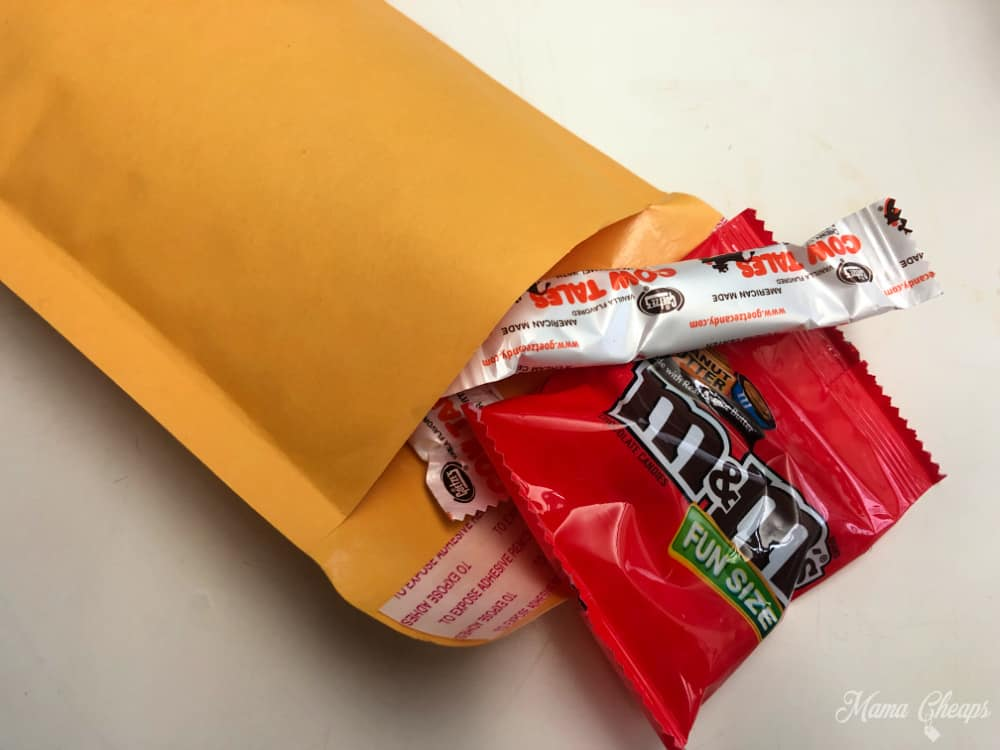 Mailed Candy